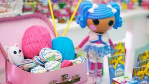 LalaLoopsy themed birthday party via Kara's Party Ideas KarasPartyIdeas.com #lalaloopsy #nanjaloopsy #birthday #party #ideas #cake #supplies #idea #favors #table #dessert (1) (12)
