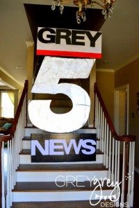Live at FIVE anchorman NEWS themed birthday party via Kara's Party Idesa | KarasPartyIdeas.com (6)