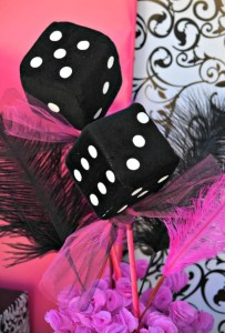 Pink BUNCO themed birthday party via Kara's Party Ideas KarasPartyIdeas.com #pink #bunco #themed #birthday #party #ideas #idea (37)