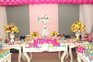 LalaLoopsy themed birthday party via Kara's Party Ideas KarasPartyIdeas.com #lalaloopsy #nanjaloopsy #birthday #party #ideas #cake #supplies #idea #favors #table #dessert (1) (7)