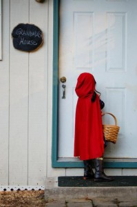 Little Red Riding Hood Birthday Party via Kara's Party Ideas #storybook #party #idea (7)