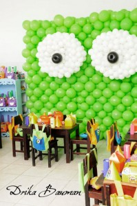 Monster themed birthday party via Kara's Party Ideas | KarasPartyIdeas.com #monster #birthday #party #ideas (61)