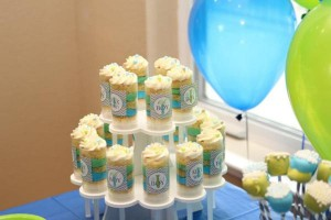 Little Gentelman #Baby #Shower via Kara's #Party #Ideas KarasPartyIdeas.com #man #mustache #tie (6)