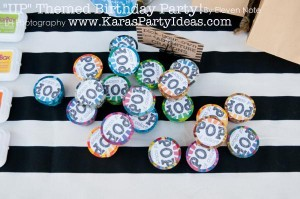 Disney's UP themed birthday party via Kara's Party Ideas | KarasPartyIdeas.com #up #themed #birthday #party #planning #ideas #cake #disney #decor #supplies #shop #idea (34)