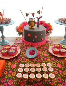 Hippie Bohemian OWL themed birthday party via Kara's Party Ideas KarasPartyIdeas.com (33)