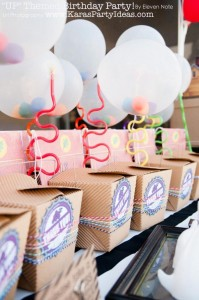 Disney's UP themed birthday party via Kara's Party Ideas | KarasPartyIdeas.com #up #themed #birthday #party #planning #ideas #cake #disney #decor #supplies #shop #idea (33)