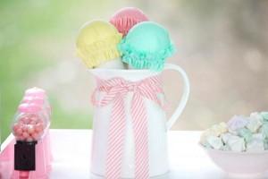 Ice Cream Shoppe Party via Kara's Party Ideas   KarasPartyIdeas.com #ice #cream #shoppe #party #ideas #summer #cake (4)