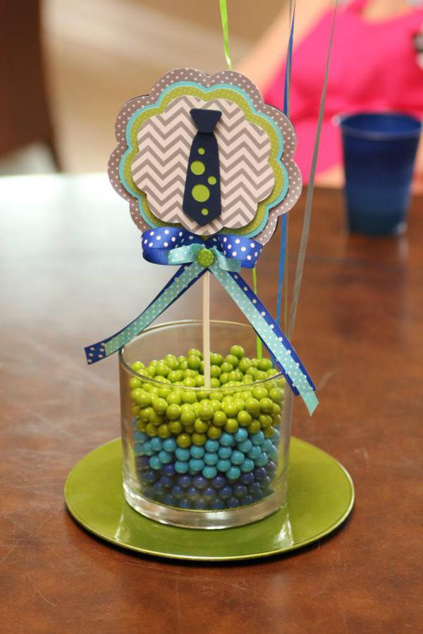 little man baby shower centerpieces car tuning