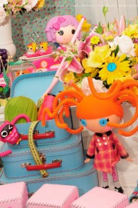 LalaLoopsy themed birthday party via Kara's Party Ideas KarasPartyIdeas.com #lalaloopsy #nanjaloopsy #birthday #party #ideas #cake #supplies #idea #favors #table #dessert (1) (55)