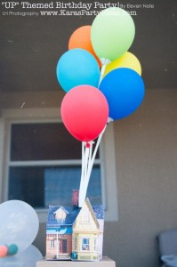 Disney's UP themed birthday party via Kara's Party Ideas | KarasPartyIdeas.com #up #themed #birthday #party #planning #ideas #cake #disney #decor #supplies #shop #idea (30)