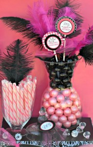 Pink BUNCO themed birthday party via Kara's Party Ideas KarasPartyIdeas.com #pink #bunco #themed #birthday #party #ideas #idea (34)
