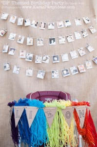 Disney's UP themed birthday party via Kara's Party Ideas | KarasPartyIdeas.com #up #themed #birthday #party #planning #ideas #cake #disney #decor #supplies #shop #idea (28)
