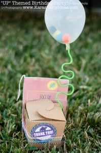 Disney's UP themed birthday party via Kara's Party Ideas | KarasPartyIdeas.com #up #themed #birthday #party #planning #ideas #cake #disney #decor #supplies #shop #idea (27)