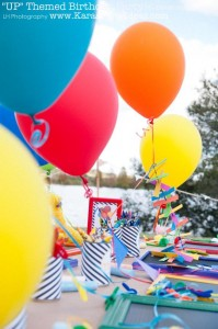 Disney's UP themed birthday party via Kara's Party Ideas | KarasPartyIdeas.com #up #themed #birthday #party #planning #ideas #cake #disney #decor #supplies #shop #idea (26)