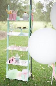 Ice Cream Shoppe Party via Kara's Party Ideas | KarasPartyIdeas.com #ice #cream #shoppe #party #ideas #summer #cake (2)