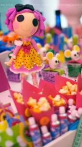 LalaLoopsy themed birthday party via Kara's Party Ideas KarasPartyIdeas.com #lalaloopsy #nanjaloopsy #birthday #party #ideas #cake #supplies #idea #favors #table #dessert (1) (4)