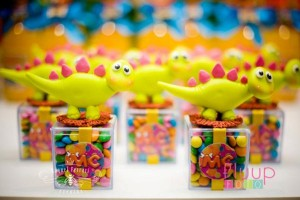 Pink Dinosaur Birthday Party for girls via Kara's Party Ideas KarasPartyIdeas.com #pink #dino #dinosaur #birthday #party #girls #ideas #cake #supplies #favors #decor #idea (2)