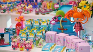 LalaLoopsy themed birthday party via Kara's Party Ideas KarasPartyIdeas.com #lalaloopsy #nanjaloopsy #birthday #party #ideas #cake #supplies #idea #favors #table #dessert (1) (3)