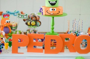 Monster themed birthday party via Kara's Party Ideas | KarasPartyIdeas.com #monster #birthday #party #ideas (56)