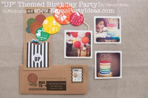 Disney's UP themed birthday party via Kara's Party Ideas | KarasPartyIdeas.com #up #themed #birthday #party #planning #ideas #cake #disney #decor #supplies #shop #idea (11)