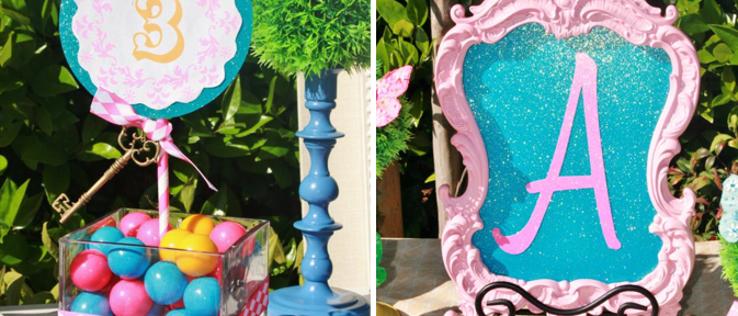 Alice in Wonderland Mad Hatter tea Party via Kara's Party Ideas KarasPartyIdeas.com #mad #hatter #tea #party #alice #wonderland