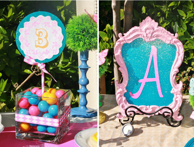 Alice in Wonderland Mad Hatter tea Party via Karau0027s Party Ideas KarasPartyIdeas.com #mad & Karau0027s Party Ideas Mad Hatter Girl Whimsical Tea Party Planning ...
