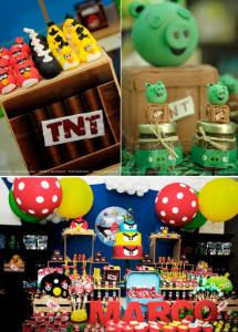 Angry Birds Birthday Party via Kara's Party Ideas KarasPartyIdeas.com #angrybirds #angry #birds #birthday #party #ideas #planning #cake #decorations #supplies #cake #idea