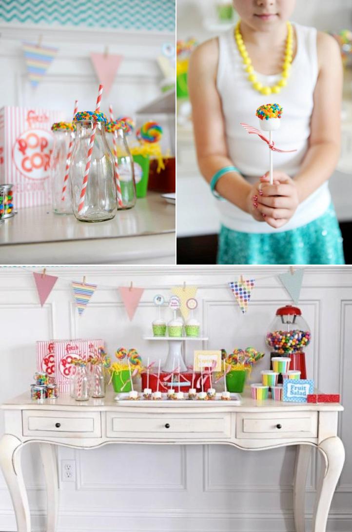 Kara\'s Party Ideas Celebrate Themed Happy Birthday Party Idea ...