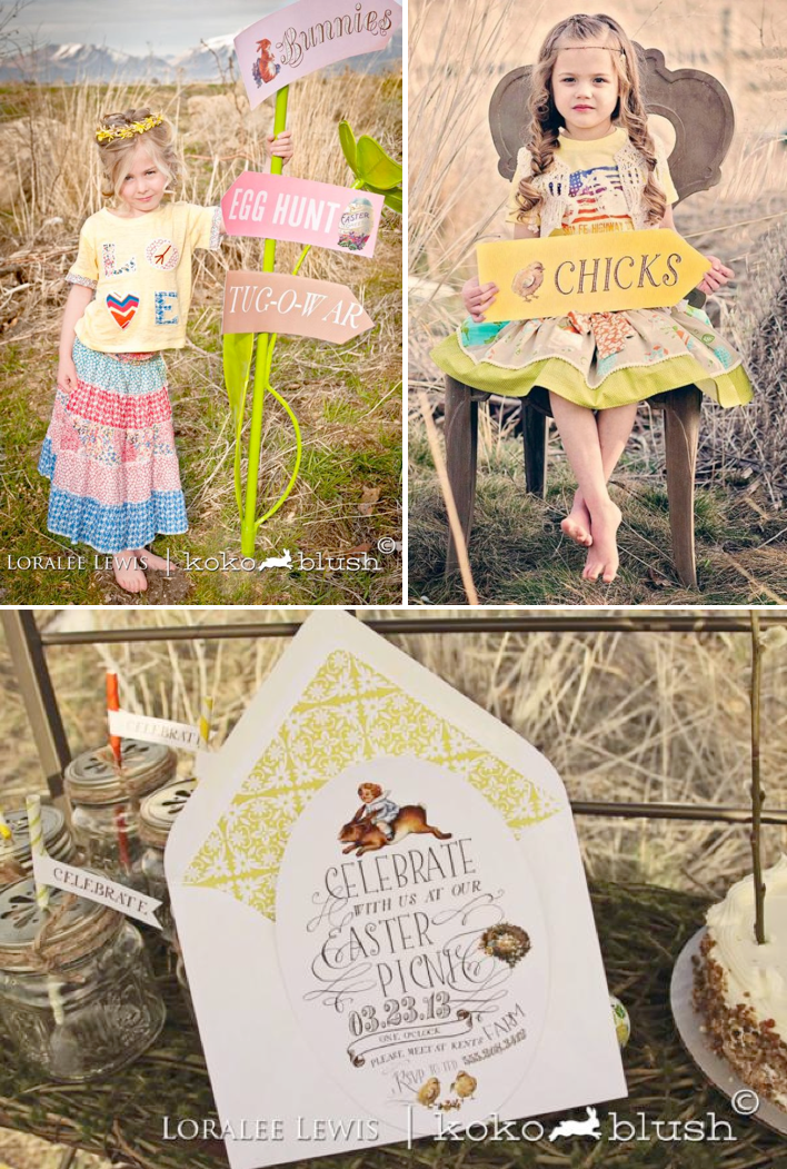Bohemian Spring Picnic Party via Kara's Party Ideas KarasPartyIdeas.com