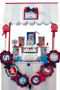 Boy themed Sweet Shoppe Candy Shop party via Kara's Party Ideas KarasPartyIdeas.com #candy #shoppe #shop #sweet #boy #birthday #party (11)