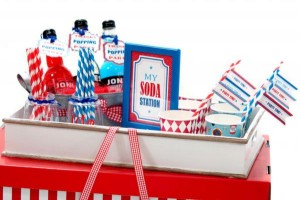 Boy themed Sweet Shoppe Candy Shop party via Kara's Party Ideas KarasPartyIdeas.com #candy #shoppe #shop #sweet #boy #birthday #party (8)