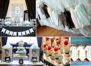 Breakfast At Tiffany's Party Baby Shower via Kara's Party Ideas | KarasPartyIdeasa.com