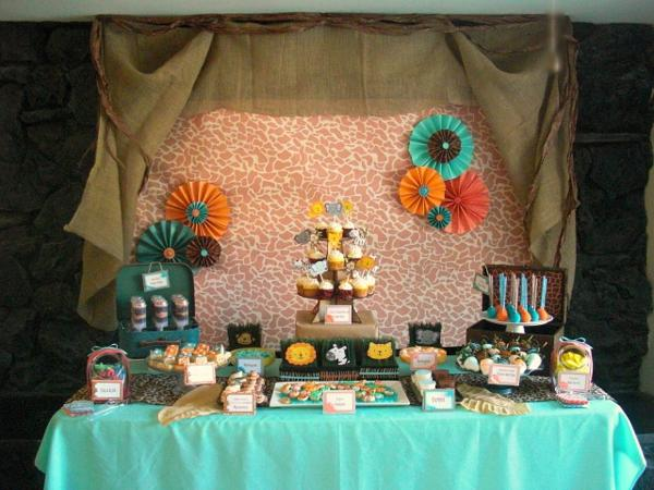 Jungle Safari Party via Kara's Party Ideas | KarasPartyIdeas.com #jungle #safari #animal #wild #child #party #ideas (17)