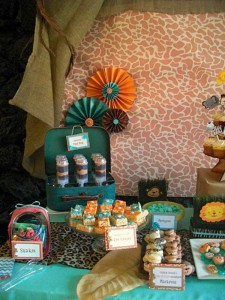 Jungle Safari Party via Kara's Party Ideas | KarasPartyIdeas.com #jungle #safari #animal #wild #child #party #ideas (16)