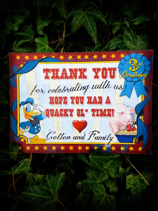 Vintage Donald Duck County Fair Party via Kara's Party Ideas | KarasPartyIdeas.com #vintage #donald #duck #county #fair #party (31)