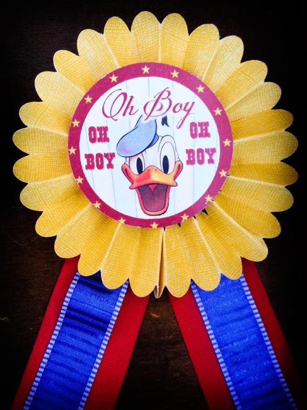 Vintage Donald Duck County Fair Party via Kara's Party Ideas | KarasPartyIdeas.com #vintage #donald #duck #county #fair #party (18)