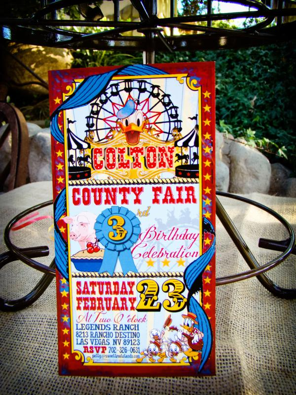 Vintage Donald Duck County Fair Party via Kara's Party Ideas | KarasPartyIdeas.com #vintage #donald #duck #county #fair #party (15)