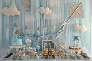 Kite + Hot Air Balloon Party via Kara's Party Ideas | KarasPartyIdeas.com #kite #balloon #party #birthday #ideas (14)