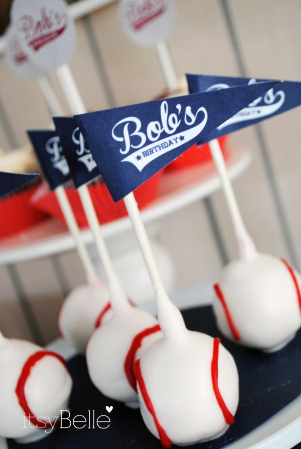 How To Make Baseball Cake Pops