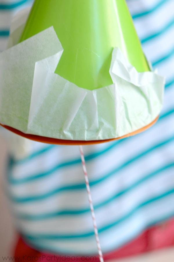 Cinco de Mayo Fiesta DIY Party Hat Pull String Pinata's via Kara's Party Ideas KarasPartyIdeas.com (6)