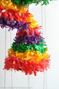 Cinco de Mayo Fiesta DIY Party Hat Pull String Pinata's via Kara's Party Ideas KarasPartyIdeas.com (4)