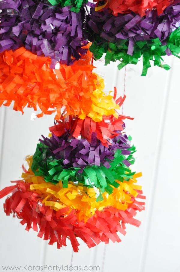 Cinco de Mayo Fiesta DIY Party Hat Pull String Pinata's via Kara's Party Ideas KarasPartyIdeas.com (3)