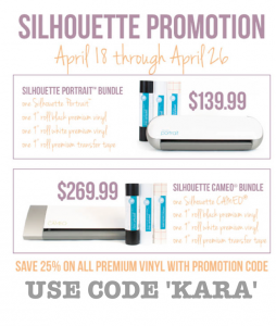 Discount-Code-Karas-Party-Ideas-Silhouette-Portrait-Giveaway-April-Promo