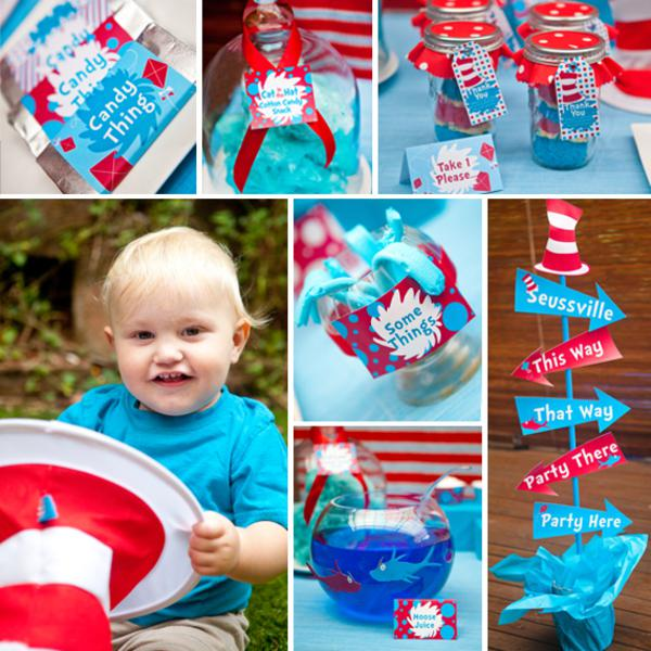 This fantastic DR. SEUSS THEMED BIRTHDAY PARTY was submitted by Louise ...