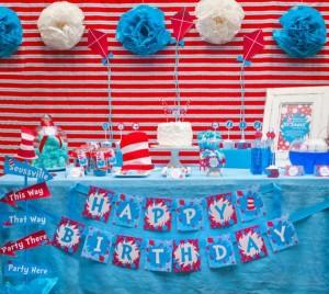 Dr. Seuss Party via Kara's Party Ideas | KarasPartyIdeas.com #Seuss #birthday #party #ideas (3)