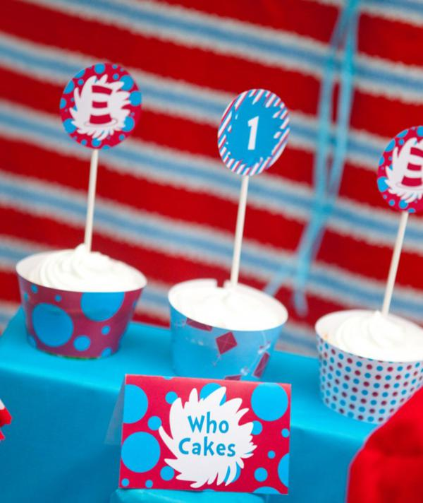Dr. Seuss Party via Kara's Party Ideas | KarasPartyIdeas.com #Seuss #birthday #party #ideas (15)