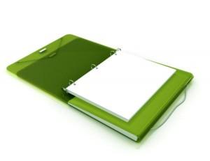 Duo Binder Organizer Folder 3 ring Filing system via Kara's Party Ideas | KarasPartyIdeas.com (16)