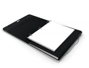 Duo Binder Organizer Folder 3 ring Filing system via Kara's Party Ideas | KarasPartyIdeas.com (13)