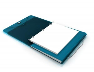 Duo Binder Organizer Folder 3 ring Filing system via Kara's Party Ideas | KarasPartyIdeas.com (7)