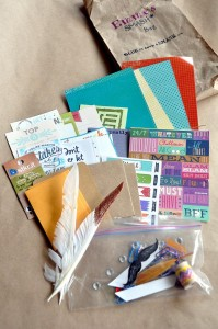 SMASH themed Scrapbooking birthday party via Kara's Party Ideas KarasPartyIdeas.com #scrapbooking #party #ideas #get #together #girls #night #birthday #theme #supplies #shop #idea (10)